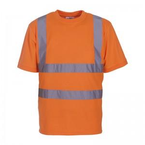 Tee shirt fluo HVJ410 marque Yoko - couleur orange fluo