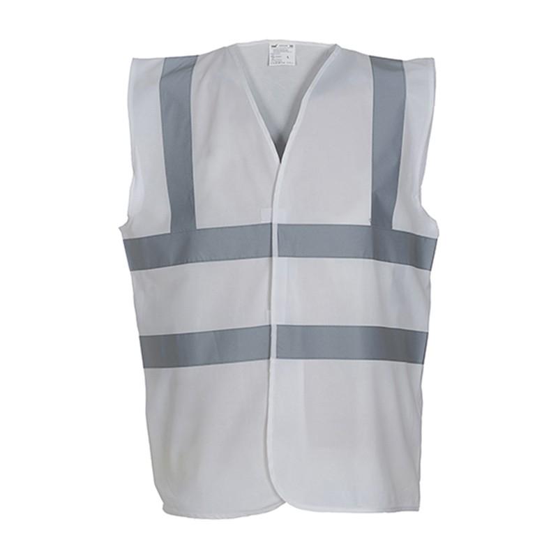Gilet de sécurité HVW 100 marque Yoko - couleur blanc