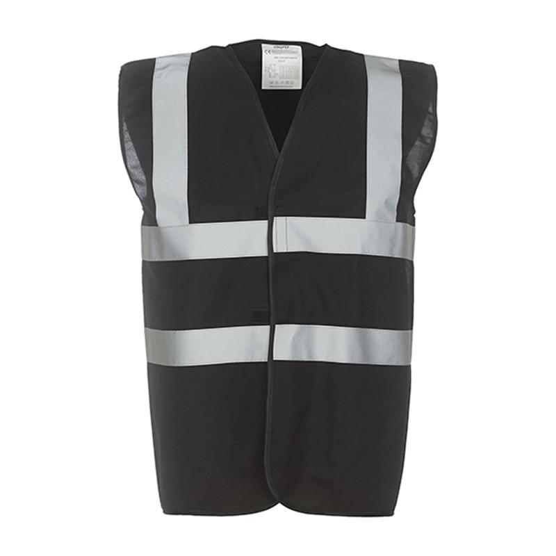 Gilet de sécurité HVW 100 marque Yoko - couleur noir