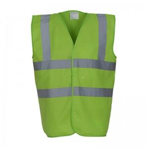 Gilet de sécurité HVW 100 marque Yoko - couleur vert lime
