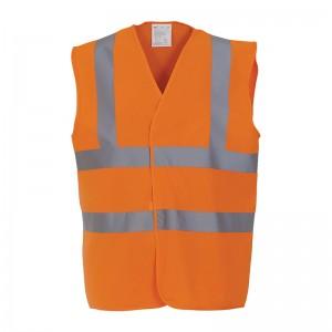 Gilet de sécurité HVW 100 marque Yoko - couleur orange