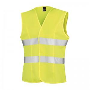Gilet de sécurité femme R334F marque Result - couleur jaune fluo