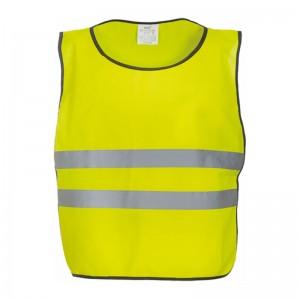 Chasuble de sécurité HVJ269 marque Yoko - couleur jaune fluo