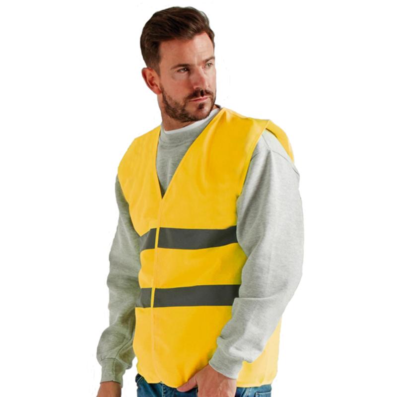 Gilet de sécurité jaune fluo le moins cher du marché UCC052