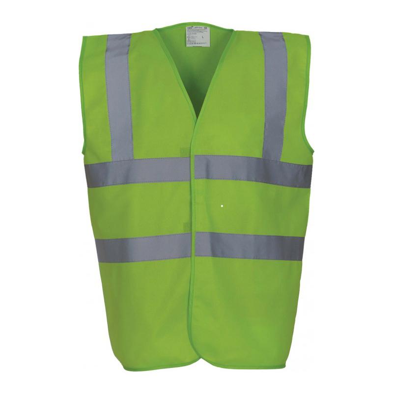Gilet de sécurité vert lime meilleure vente