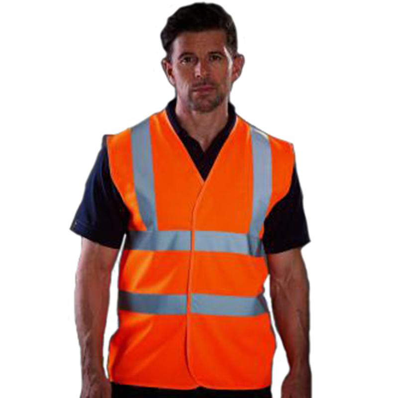 Personnaliser nos gilets de sécurité orange
