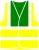 Gilet de sécurité HVW100 bicolore jaune fluo et vert foncé